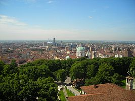 Brescia city skyline from the city castle.jpg