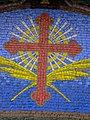 Brickwork, English Martyrs Church, Liebenhood Road, Reading - geograph.org.uk - 1770096.jpg
