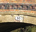 Bridge 50 number plate - geograph.org.uk - 311029.jpg