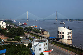 Bridge on the Yangtze River in Anqing Anhui China.jpg
