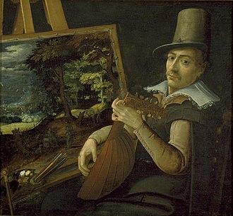 Paul Bril - Self-portrait, 1595–1600