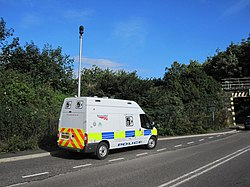 British Transport Police safety camera van (9627466757).jpg