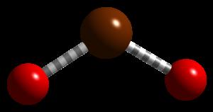 Bromine dioxide - Image: Bromine dioxide MP2 CM 3D balls