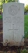 Bromsgrove cemetery GWGC Cotton MC