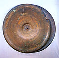 Bronze Cymbal at Taeansa temple in Gokseong, Korea.jpg