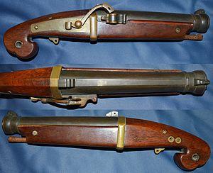 Tanegashima (gun) - Antique Japanese (samurai) tanegashima (matchlock) pistol
