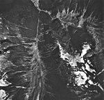 Brown Glacier, hanging glacier and terminus of glacier, August 24, 1963 (GLACIERS 5906).jpg