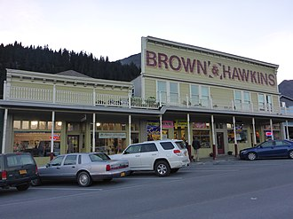 National Register of Historic Places listings in Kenai Peninsula Borough, Alaska - Image: Brown and Hawkins Seward 2013
