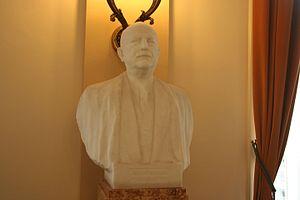Joseph Pholien - Pholien's official portrait bust in the Belgian Federal Parliament