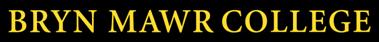 Bryn Mawr text logo