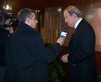 Pat Buchanan - Buchanan being interviewed in 2008
