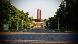 heritage site in Bucharest, Romania