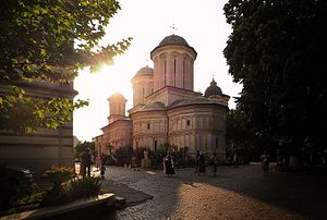 Radu Vodă Monastery - Image: Bucharest Radu Vodă Monastery (28818397124)