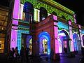 Bucuresti, Romania. Festivalul luminii, 5-8 mai 2016. Hotel NOVOTEL (2).JPG