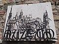 Budai Várnegyed, Múzeum felirat a Budapesti Történeti Múzeum udvarán.JPG
