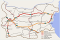 Bulgarian motorway network en 2013.PNG