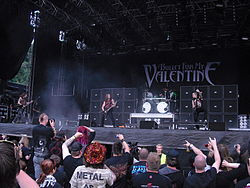 Bullet for My Valentine на Norway Rock Festival в 2010