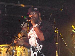 Bun B - Bernard performing live in August 2007.