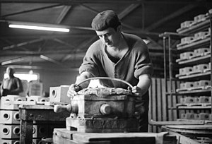Gastarbeiter - Italian Gastarbeiter - 'factory worker' in the Rhineland (1962)
