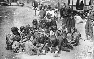Romani people in Germany - Roma and Sinti in Berlin around the year of 1926