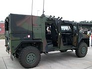 Bundeswehr mowag eagle IV side