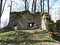 Burg Rothenstein (Bad Grönenbach) 19 - Nordwestwand.JPG