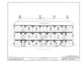 Burlington County Prison, 128 High Street, Mount Holly, Burlington County, NJ HABS NJ,3-MOUHO,8- (sheet 8 of 24).png
