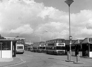 Burnley bus station - Image: Burnley Bus Station, Lancashire geograph.org.uk 485647