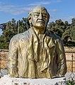 Bust of Bener Hakki Hakeri (1936-2013), North Nicosia, Cyprus 02.jpg