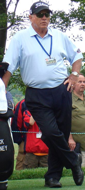 Butch Harmon - Harmon during a practice round of the 2009 U.S. Open