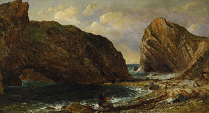Jasper Francis Cropsey - By the Sea