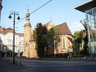 Gdańska Street in Bydgoszcz - Image: Bydgoszcz Klaryski 1aa