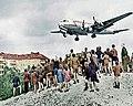 C-54 landing at Tempelhof 1948.jpg