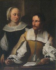 Portrait of the so-called Mathematician with his Wife