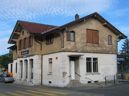 La Neuveville train station