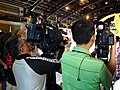 CTI News Betacam and NTDAPTV News AVCHD at Golden Bell Awards 50th Anniversary Exhibition 20150912.jpg