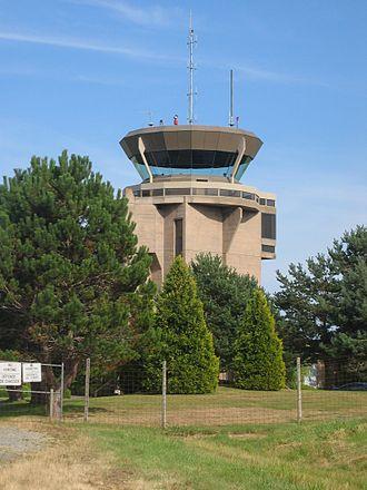Boundary Bay Airport - Control tower at Boundary Bay.