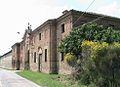 Ca' de' Caggi (Torre de' Picenardi) - Villa Pallavicino- Prospetto dtradale, portale di accesso, chiesa 03.JPG