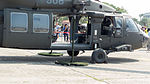 Cabin Door of ROCA UH-60M 908 Display at Zuoying Naval Base Ground 20151024.jpg
