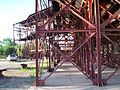 Cable line support structure of the Mexican Mine in Chilecito, Argentina.jpg