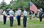 Cadets of the CAP folding the American flag in.jpg