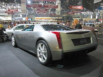 Cadillac Cien - Cadillac Cien (3/4 rear view)