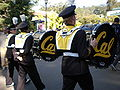 Cal Band en route to Memorial Stadium for 2008 Big Game 14.JPG