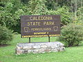 Caledonia State Park Sign.JPG