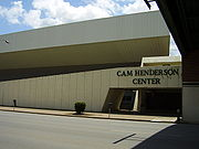 The Cam Henderson Center.