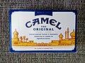 Camel cigarette pack ~ reverse side 2019.jpg