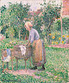 Camille Pissarro A Washerwoman at Éragny The Metropolitan Museum of Art.jpg