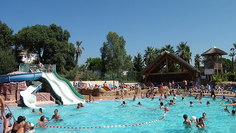 File:Camping Le Colombier Swimming pool - panoramio.jpg