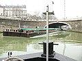 Canal Saint-Denis - Barge de fret.JPG