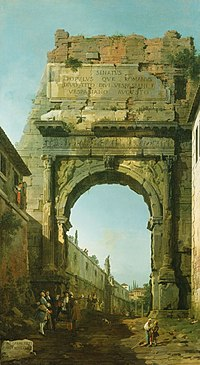 Canaletto (Venice 1697-Venice 1768) - The Arch of Titus - RCIN 401002 - Royal Collection.jpg